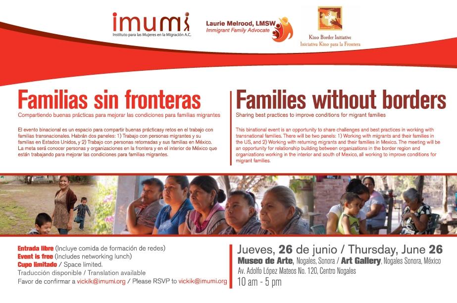 Foro Familias Sin Fronteras