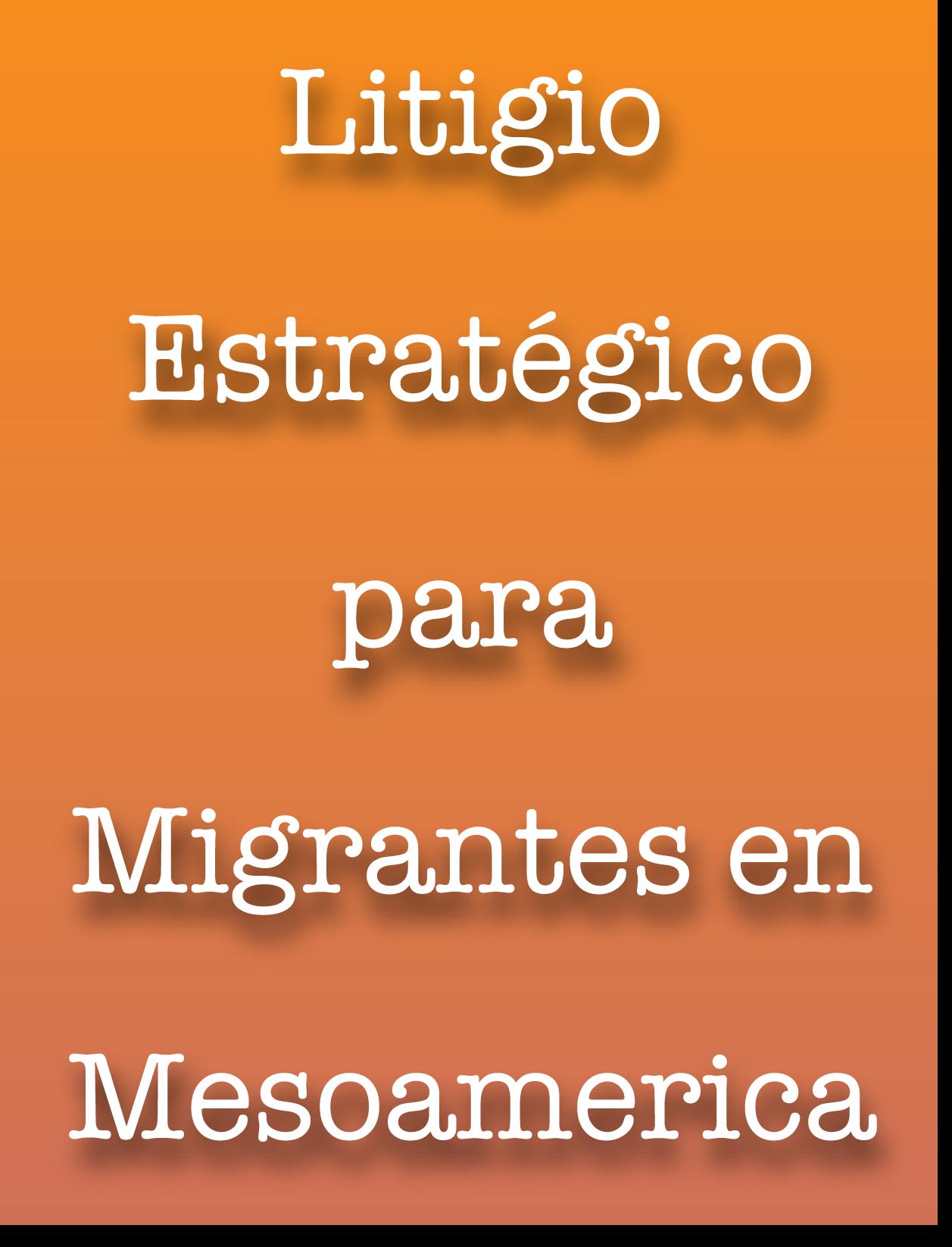 Niñez migrante en la región Norte y Centroamérica